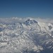 Flight to Bhutan - Everest
