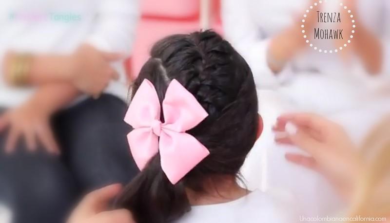trenza para niñas