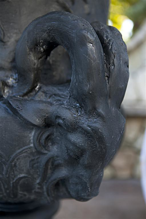 Ram Head Urn