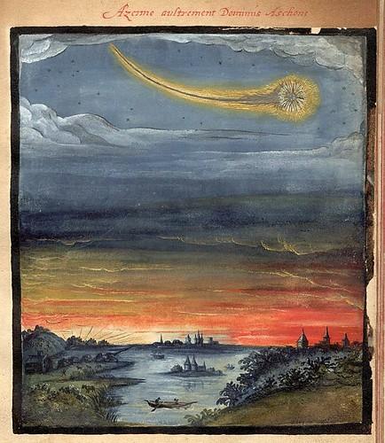 004- Azerme dominando a Mercurio-Kometenbuch -1587-Universitätsbibliothek Kassel