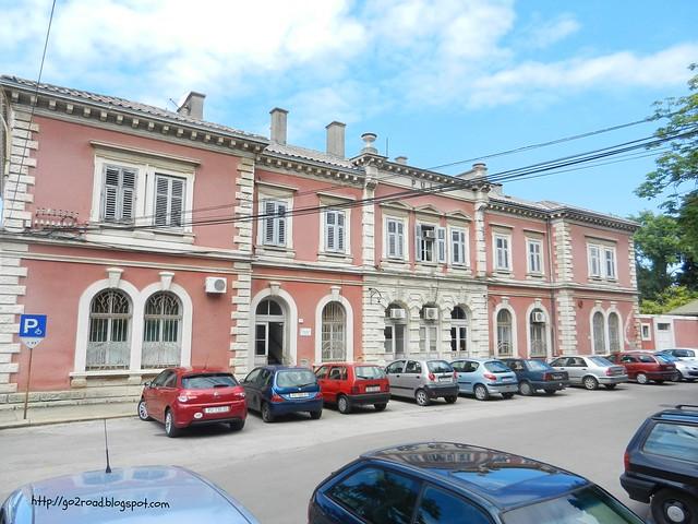 Вокзал в хорватской Пуле