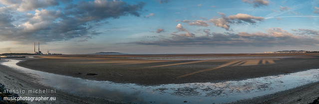 Panorama of Sandymount, Dublin