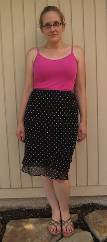 Seeing Spots Sleeveless Top - Before