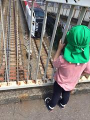 跨線橋でネックス見る 2014/5