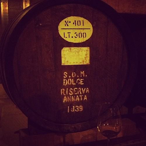 Drinking #Marsala from 1939. #latergram #Sicily #Florio