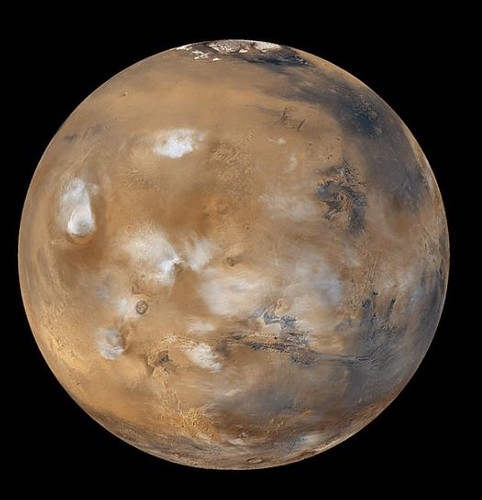 Mars Photo by NASA and Wikipedia