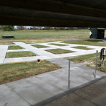 ADA Compliance Concrete At Shooting Range In Davis