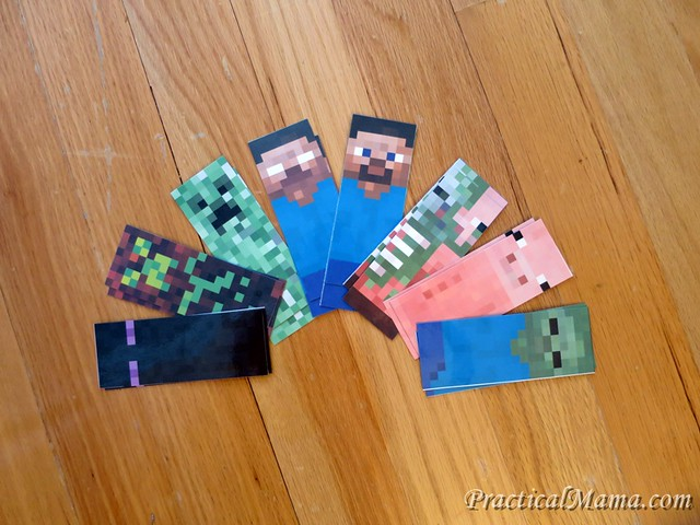Minecraft Character Bookmarks