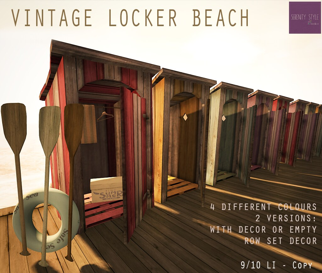 Vintage Locker Beach