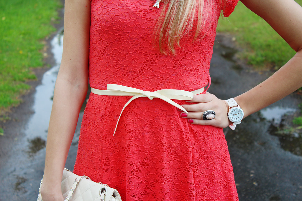 lace-dress-with-a-bow-in-front