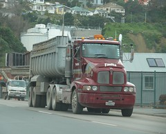 Kenworth In Lyttelton