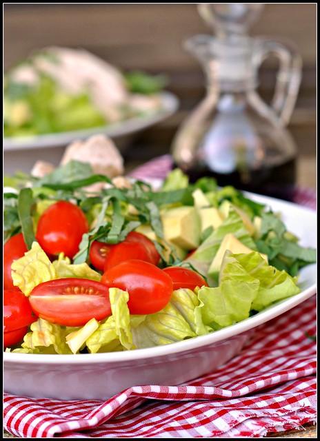 Caprese Avocado Salad 4