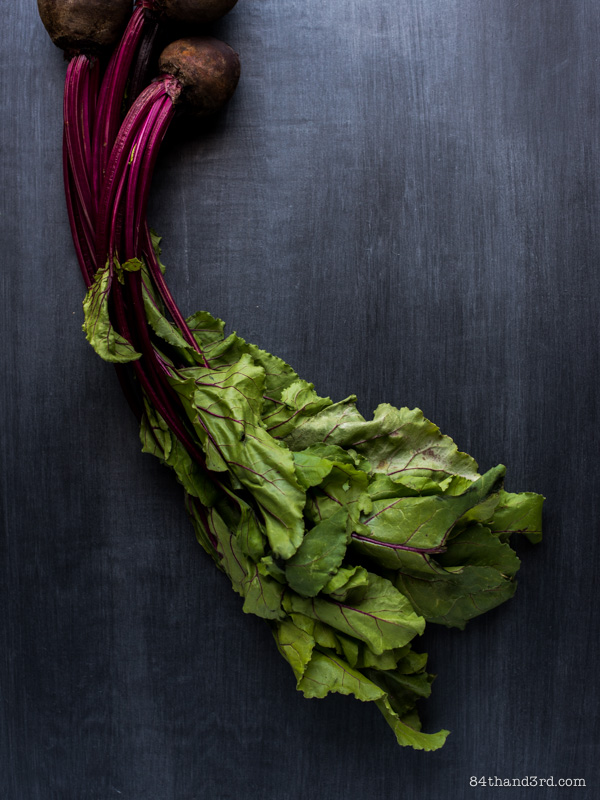 Beet Greens & Cashew Pesto