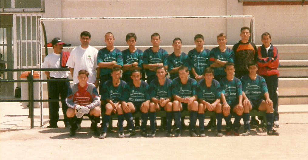 El equipo que disputó el campeonato de Costa Blanca Cup de Benidorm, dirigidos por Angel Medina, Juan Antonio El Coqui, Paco el Montejaqueño y Jesús Robles. Estos son sus integrantes: Miguel Ángel