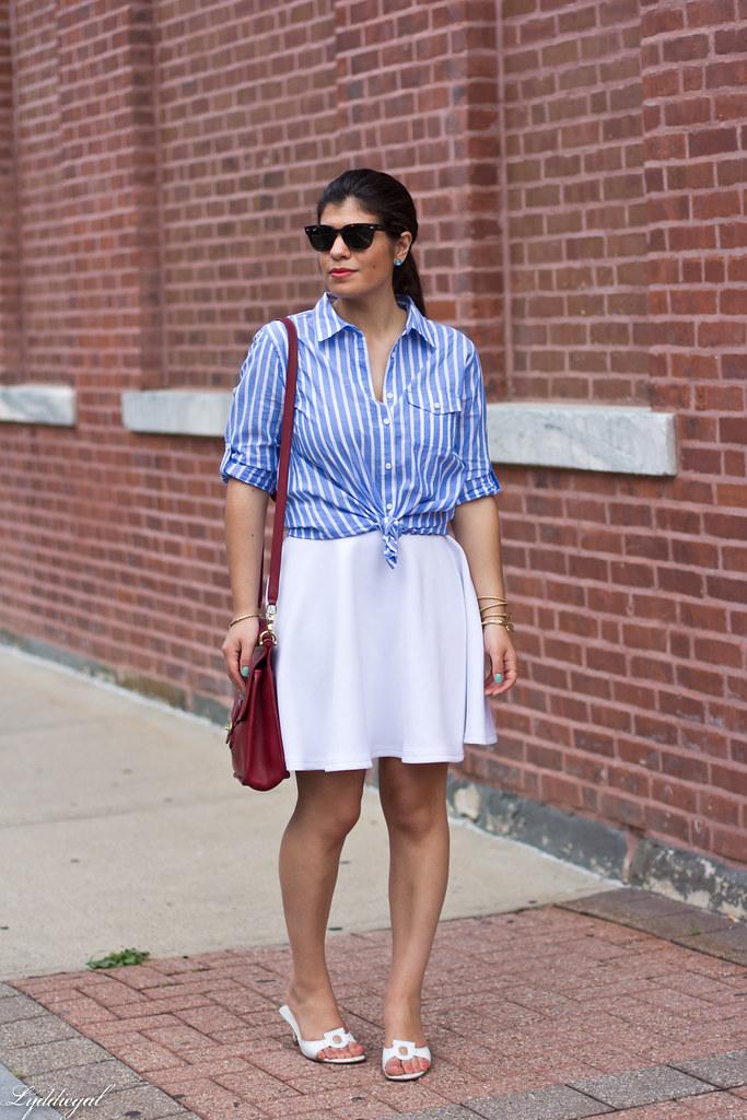 white skirt, striped shirt.jpg