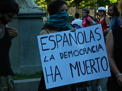 Protesta contra la ley mordaza. Foto: Fermín Grodira / flickr  (CC BY 2.0)