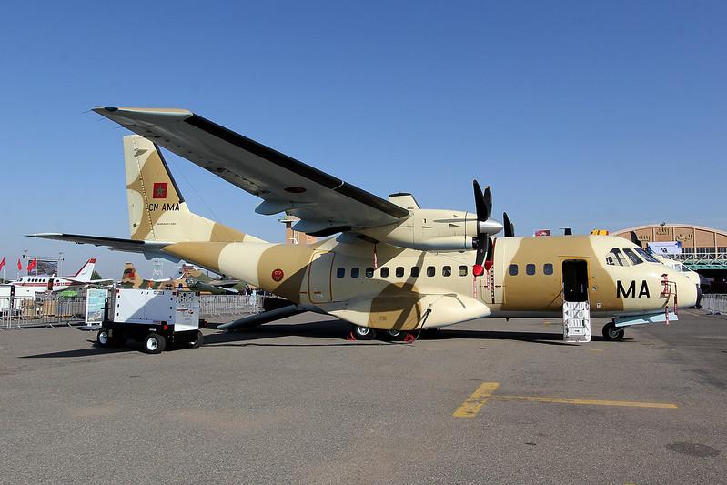 طائرات النقل العاملة بالقوات المسلحة المغربية 14481917606_5276c5771a_c