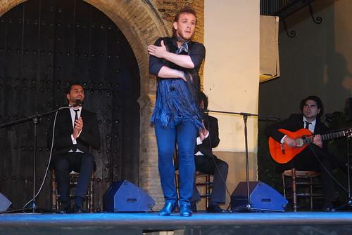 AionSur 14492163583_76867d54d7_d La voz de 'Macanita' y el baile de Manuel Liñán templan con brillantez el fresco de la quinta noche de Al gurugú Flamenco