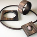 """Cuffs and Pendant """" Norwegian Wood """" by claynine"""