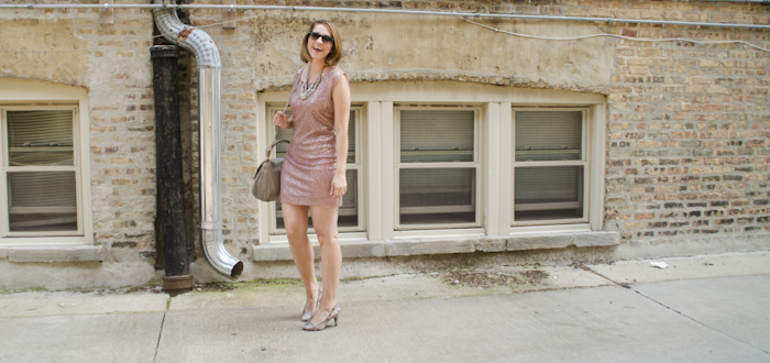 summertime sequins, rose sequin sheath, what to wear to a bachlorette party, dash dot dotty, outfit blog, what to wear, outfit ideas