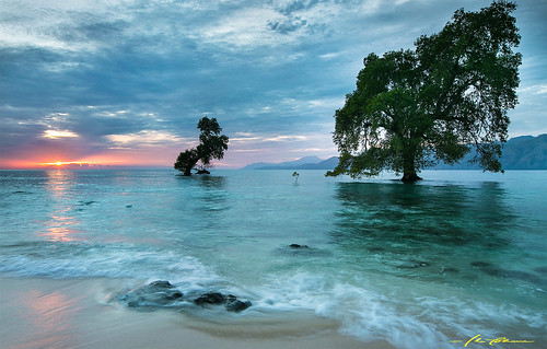 morning sea seascape beach sunrise indonesia ntt alor malibeach eastnusatenggara eastindonesia alorisland ineyohana