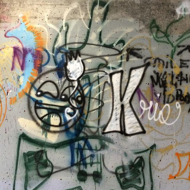 Graffiti, Pedestrian Underpass