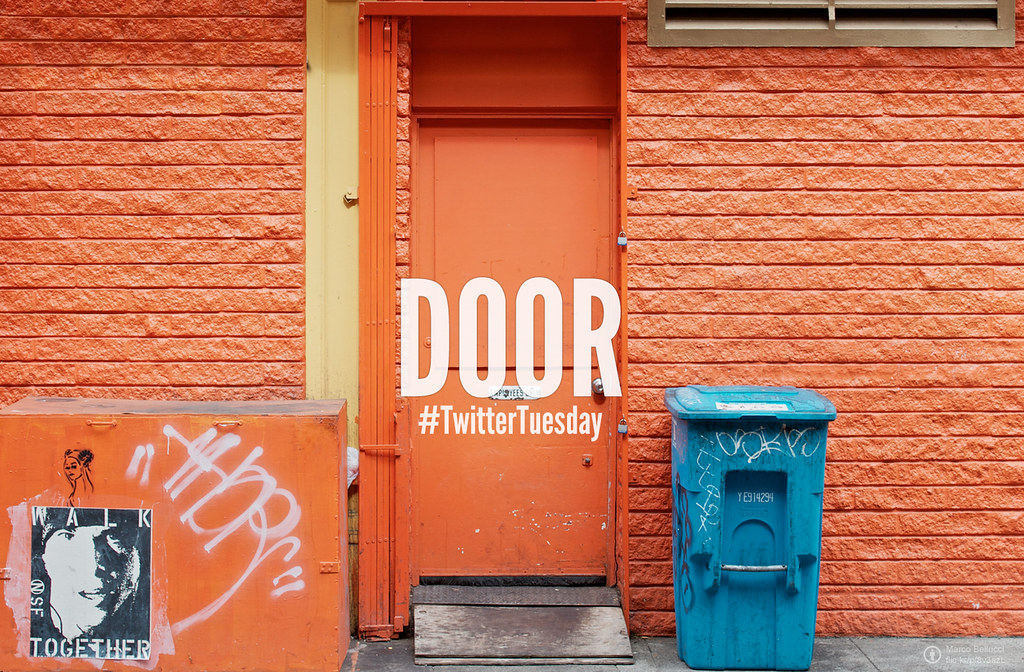 Twitter Tuesday: Door | Find your favorite door and capture it, or show us your favorite door from your photostream, then tweet your photo from your account to @flickr including the #TwitterTuesday hashtag!