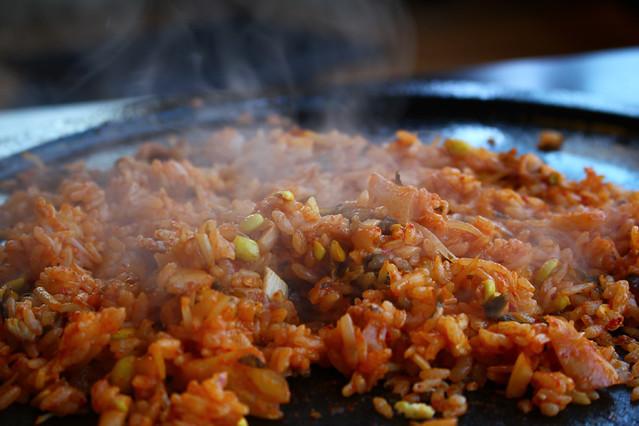 Kimchi stir-fried rice