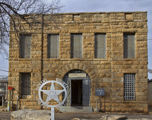 brick texas historic jail dickenscounty sherifdepartment