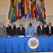 Permanent Council Receives Presidents of Guatemala, Honduras and El Salvador