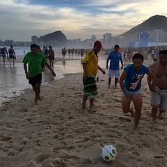 rugby union(0.0), beach(1.0), sand(1.0), sports(1.0), beach soccer(1.0), team sport(1.0), football(1.0),