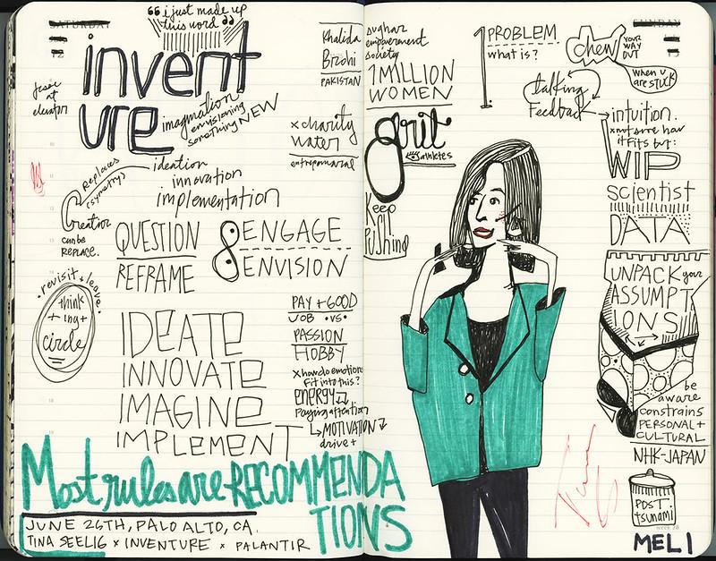 Tina Seelig: Inventure talk at Palantir, Palo Alto