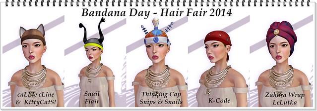 Bandana Day - Hair Fair 2014