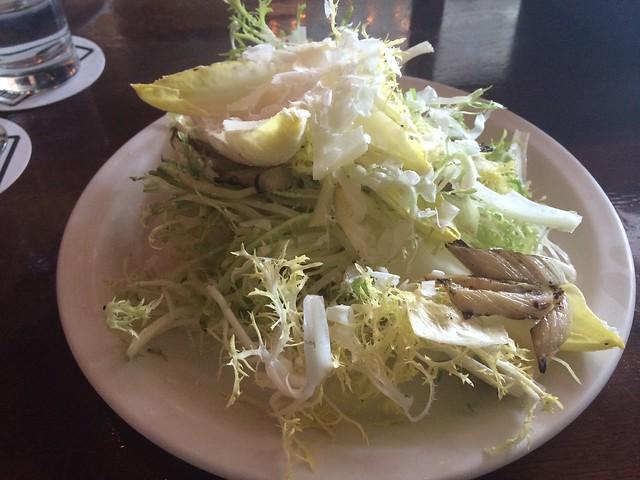 Frisee salad - Stoneburner