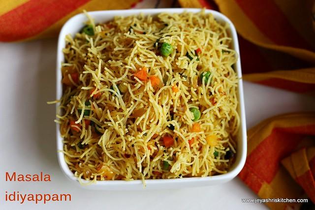 Vegetable-idiyappam