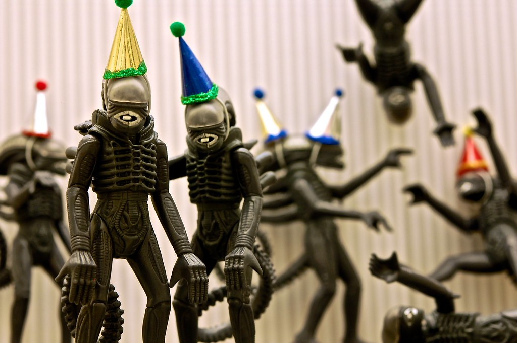 Alien Life Of The Party