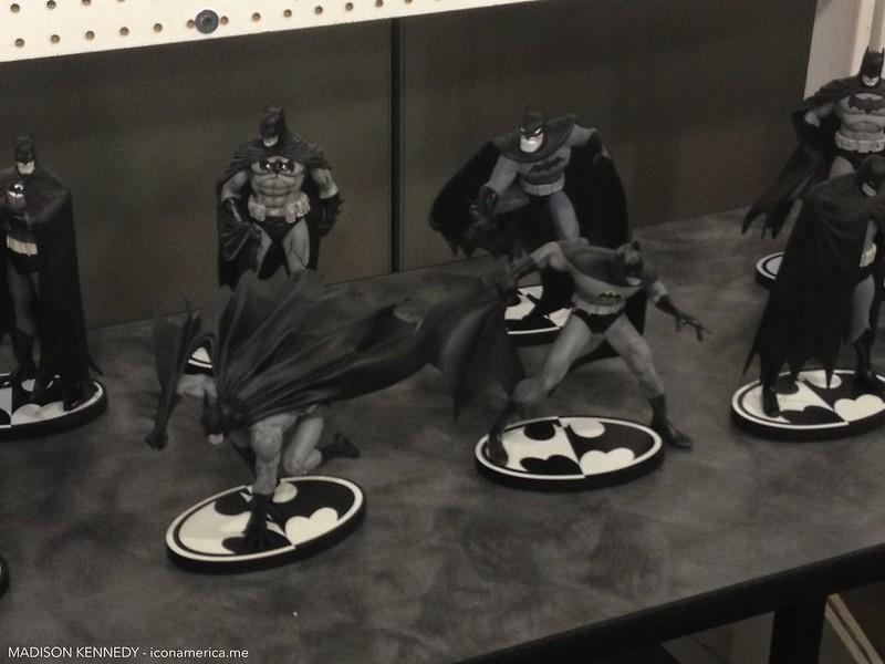 Batman museum at Big Wow! ComicFest