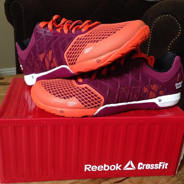 I came home from the beach and found a package with these awesome @reebok CrossFit Nano 4.0 inside. I love new shoes! Can't wait to try these out on my next WOD. #nano4 #fitfluential #crossfit #crossfitfly