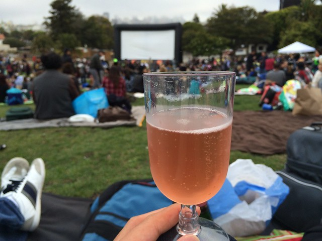 Movies at Dolores Park