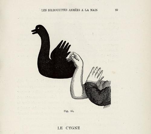 013- El cisne-Les Silhouettes animées à la main-1892-Victor E. Bertrand