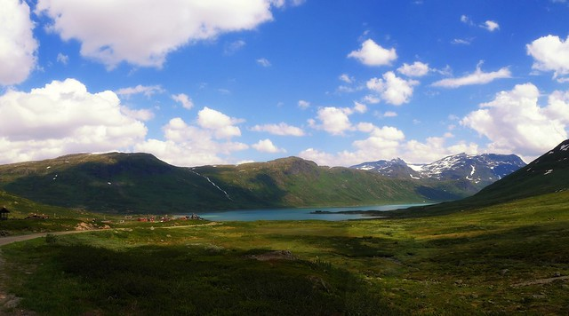 Norway - landscapes by Eidsbugarden in Jotunheimen