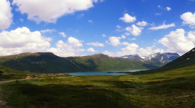 Norway - landscapes by Eidsbugarden in Jotunheimen