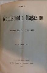 The Numismatic Magazine vol 6 title page