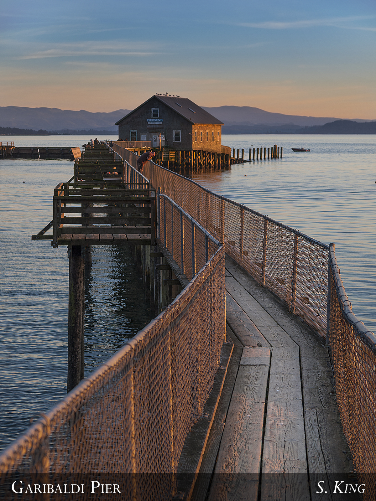 Elevation of 3rd st tillamook or usa maplogs for Jetty fishing oregon
