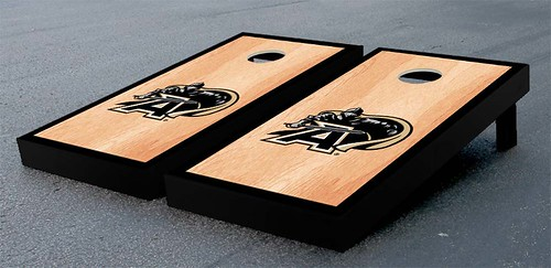 Army Black Knights Cornhole Game Set Hardcourt