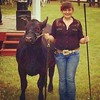 Ok, Brian didn't like the other picture I played with so here is edit #2 of Ella #showmanship win. #angus #beef #proudparents