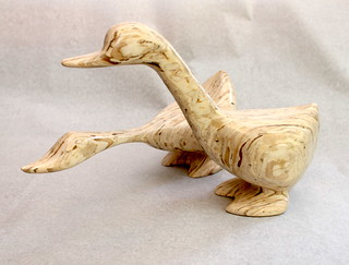 Woodcarvings by Del Holbrook