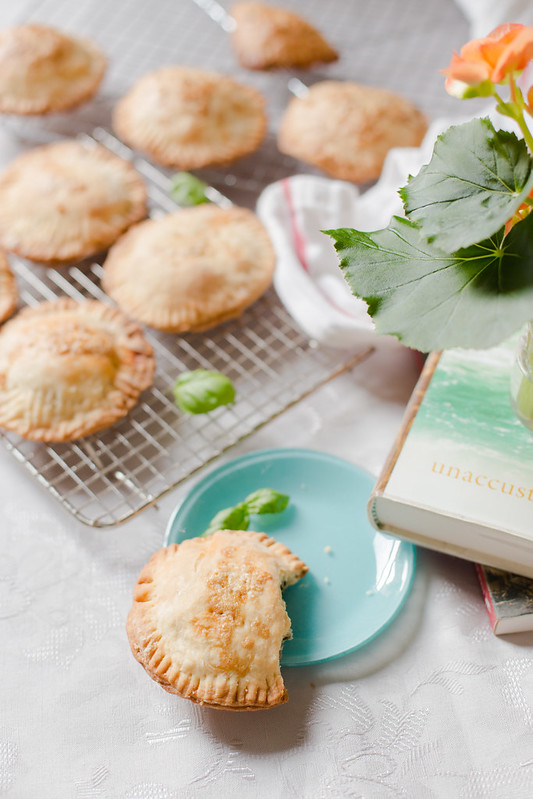 Pesto, Lentil and Basil Hand Pies