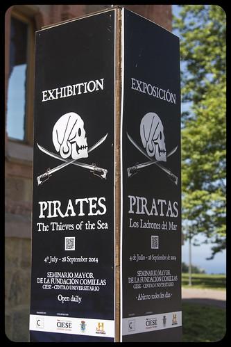 Exposición: Piratas. Los Ladrones del Mar