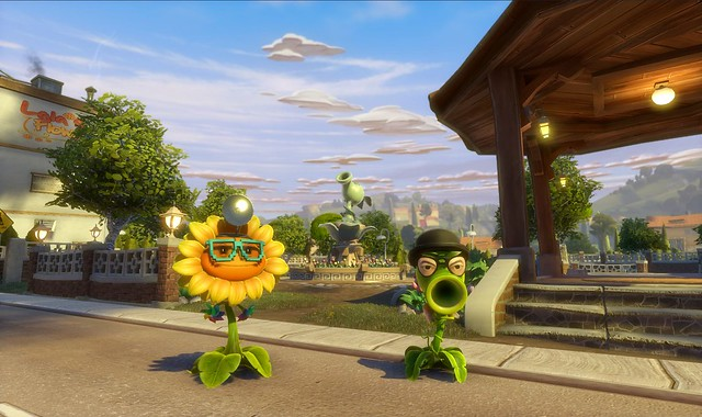 Plants vs Zombies Garden Warfare PS4: Garden Center